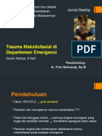 Maxillofacial Trauma in the Emergency Departement