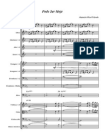 Pode Ser Hoje(Damares) - Score and Parts