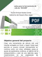 presentación biosim