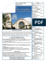 Bulletin for July 26, 2015