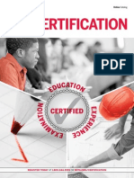 Certification Catalog