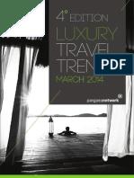 Relatório de Tendências de Viagem de Luxo
