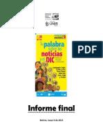 Informe Consulta Ciudadana 2012 Final 8 May Consumo de Television