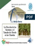 6.1.Eleccion de Sustrato y Tamagno de Alveolo (Munioz)