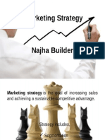 Marketing Plan for a builder