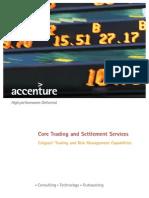 Accenture CapMarkets CoreTrading Calypso