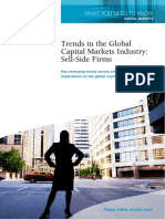 Trends in the Global Capital Markets Industry Sell-Side Firms[1]