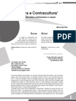 Cultura e Contracultura - Relações Entre Conformismo e Utopia