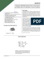 Allegro ACS712ELCTR 20A T Datasheet