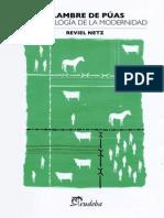 Netz - Alambre de Puas. Una Ecologia de La Modernidad