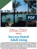 Sun City Ambassadors Success-Tested pamphlet