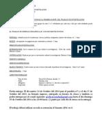 Pauta Primera Parte Del Trabajo Investigacion 2014