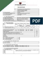 F.D. Proiectarea Si Optimizarea Retelelor Geodezice