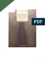 Logicascolectivas- Libro Ana María Fernandez