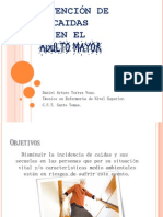Prevencion de Caidas Adulto Mayor