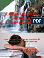 Carta de Dios para la humanidad