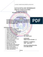 Investigacion Manejo Del Paciente