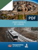 T4America Transit Funding in St. Louis - 2015