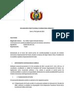 Declaración Constitucional Plurinacional 0008-2013 (EADPando)