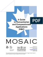 A Guide to Humanitarian and Compassionate Applications