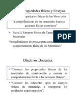Tema 2 Propiedades Físicas y Ensayos