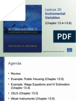 Econometrics _ ch13lectr20
