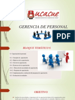 Gerencia de Personal
