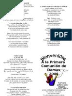 Programa Comunion cde Damas 11 Nov