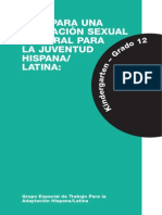 GUIA PARA UNA EDUCACIÓN SEXUAL INTEGRAL PARA LA JUVENTUD HISPANA/ LATINA