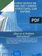 Análisis y Diseño Estructural SAP2000 (S-01) - Introducción
