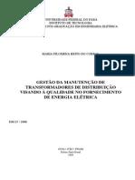 Gestão ManutençãoTransformadores