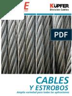 Catalogo Cables y Estrobos