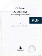O' Level ISLAMIYAT for Cambridge Examinations