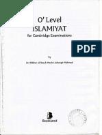O' Level ISLAMIYAT for Cambridge Examinations