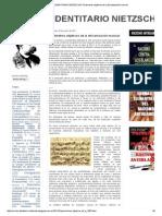 CÍRCULO IDENTITARIO NIETZSCHE_ Parámetros Objetivos de La Africanización Musical