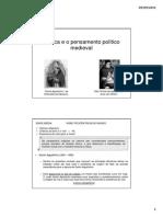 A Etica e o Pensamento Politico Medieval