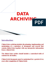 Archiving, SAE