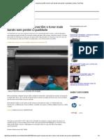 Saiba Quais Impressoras Têm o Toner Mais Barato Sem Perder a Qualidade _ Listas _ TechTudo