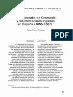 La Represalia de Cromwell, 1655-1667