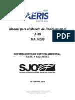 218-MA-14050 Manual Para El Manejo de Residuos en El AIJS