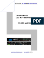 LVP605 Series User s Manual ENG