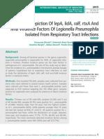 Molecular Epidemiology of Escherichia Coli in HIV-Positive Individuals in South west Nigeria