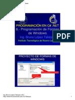 7.- Programacion en Formas de Windows