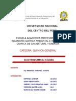Informe de Electroquimica
