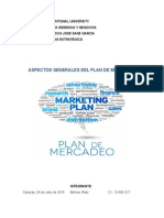 Plan de Mercadeo - Marketing Estratégico