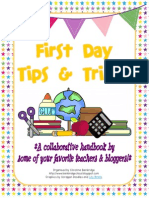 book on how to have a successful first day of school