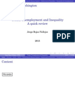 Trade, Unemployment and Inequality