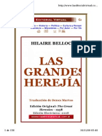 Las Grandes Herejias
