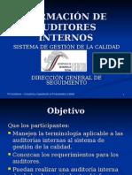 Presentaciones Formacion de Auditores