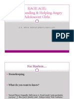 rage age angry girls pd presentation